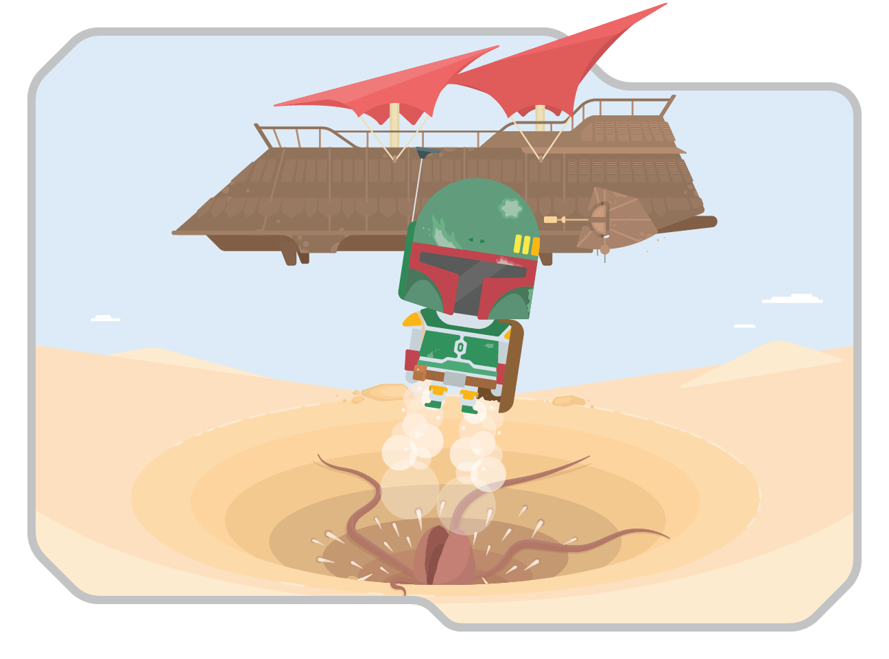 Escape the Sarlacc Pit