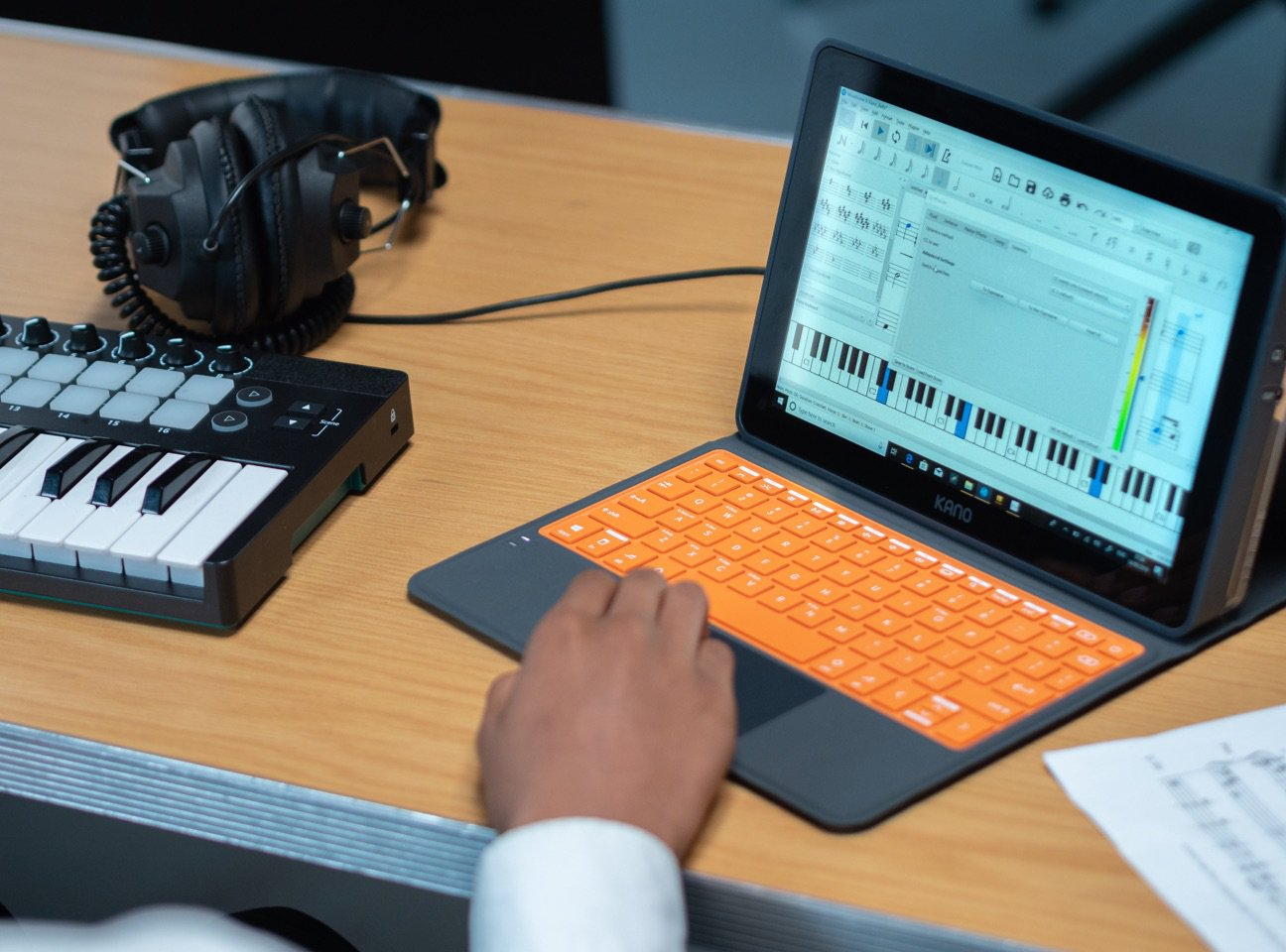 Make art, music, and games with the Kano PC