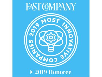 Fast Company 2019 Most Innovative Companies
