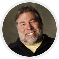 Steve Wozniak, Apple Cofounder.