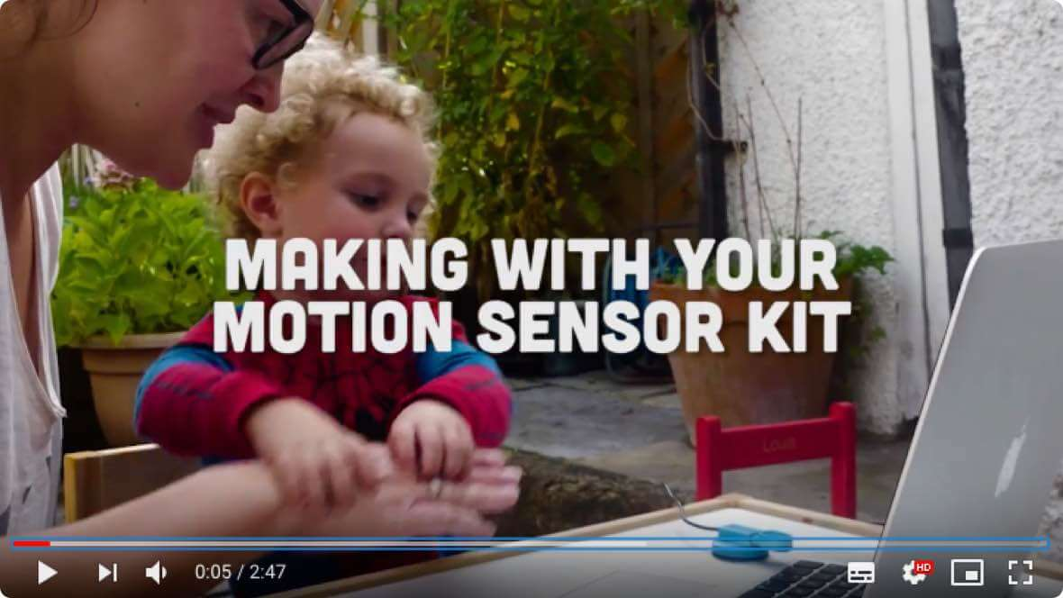 Making with the Motion Sensor Kit